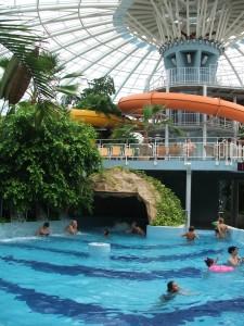 Aquaticum mediterrán élményfürdő - wellness és strandolás Debrecenben